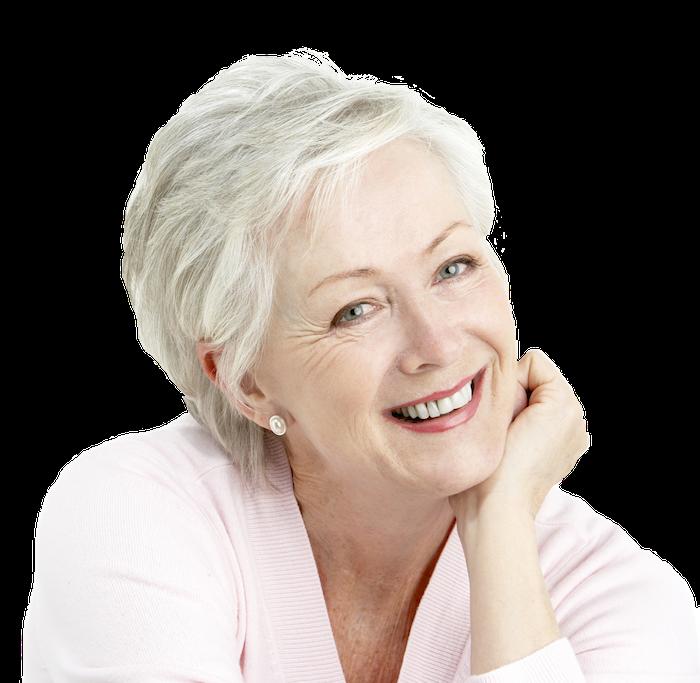 Smilingolderwoman extract