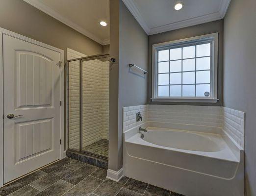 Arlington Master Bath - Tub and Shower