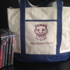 Steeplechase films tote bag and films 3