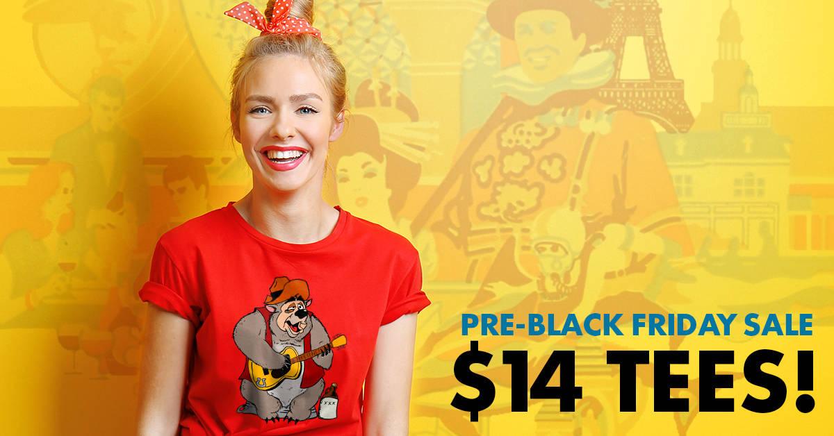 SHOP NOW: Teepublic Pre-Black Friday Disney Shirt Sale Starts Now