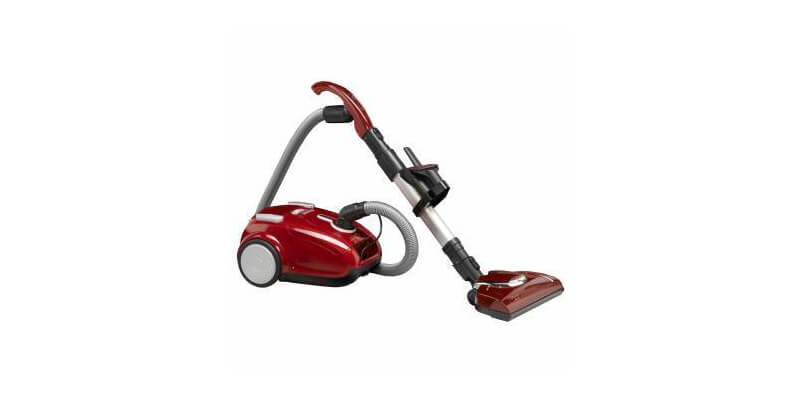 Fuller Brush Canister With Power Nozzle - The Home Maid Power Team Canister Vacuum features a power nozzle that removes dirt deep in plush carpet. It also comes with a combination floor tool with natural bristles for cleaning bare floors, as well as rubber wheels, variable suction control, a telescopic wand, on-board tools, and a HEPA media filter.