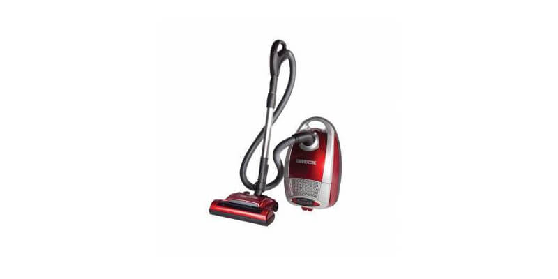 Oreck Quest Pro - This vacuum provides 1500 watts of cleaning power, yet is remarkably quiet. Thanks to its variable speed control, the precise amount of suction is available for every need. Variable suction control allows you to lower the suction on the unit for delicate surfaces such as drapes and oriental rugs, or choose a higher speed for pile carpeting with a range of settings in between. The Oreck Quest® Pro comes with a complete set of onboard tools, a hard floor head and a powered head. The power nozzle adjusts for different carpet pile heights. HEPA filter installed and disposable filter bags come standard.