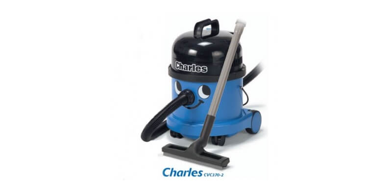 Henry's Numatic Charles CVC370 - When you want a vacuum cleaner that is totally without compromise, be it for wet or dry use, that's exactly what you get with a