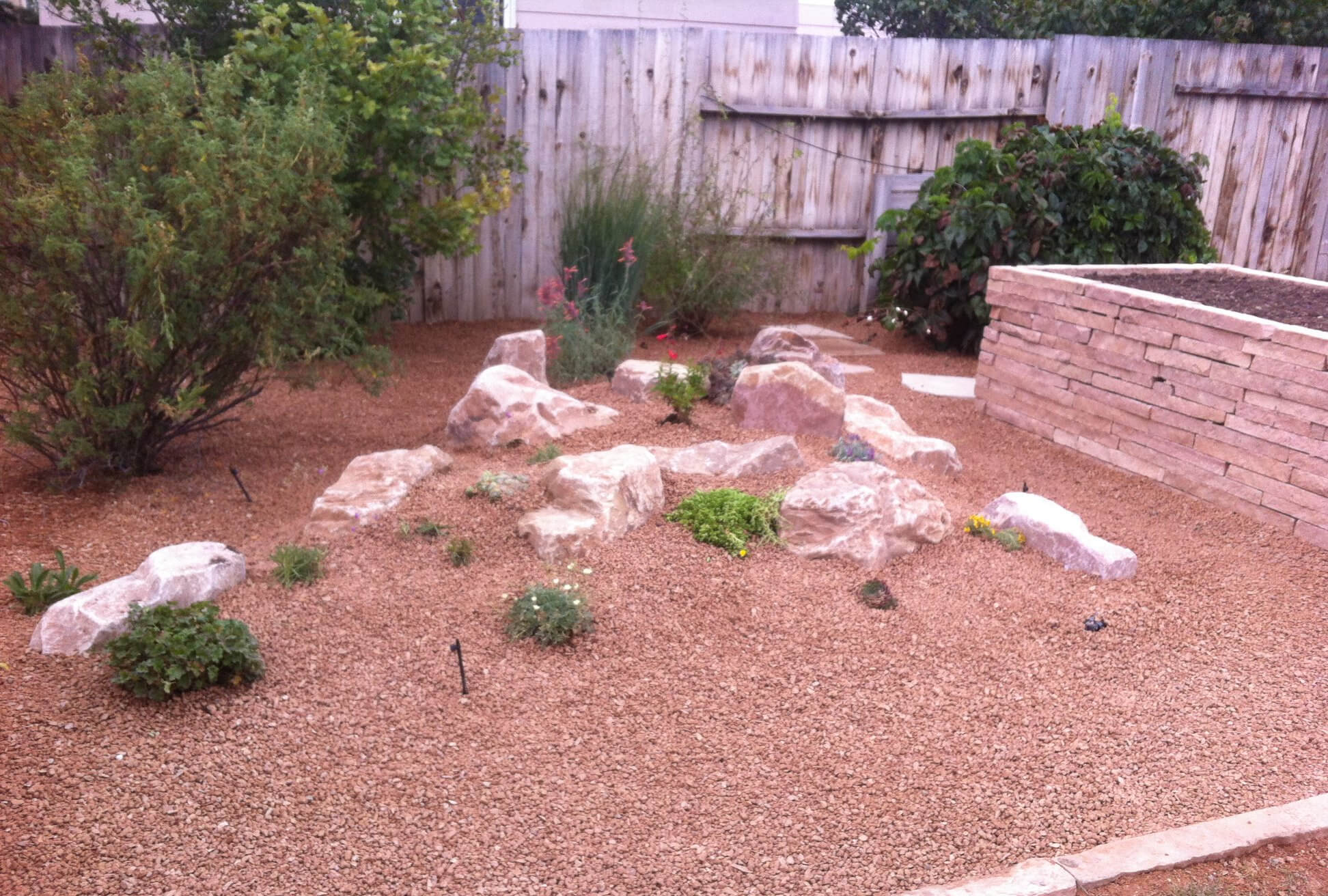 Xeriscaping - Dry Creek Landscaping