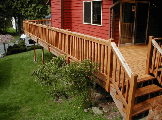 Wood and Composite Railings