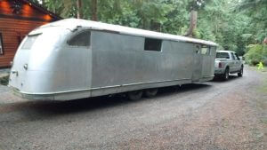 Vintage Trailer Transport