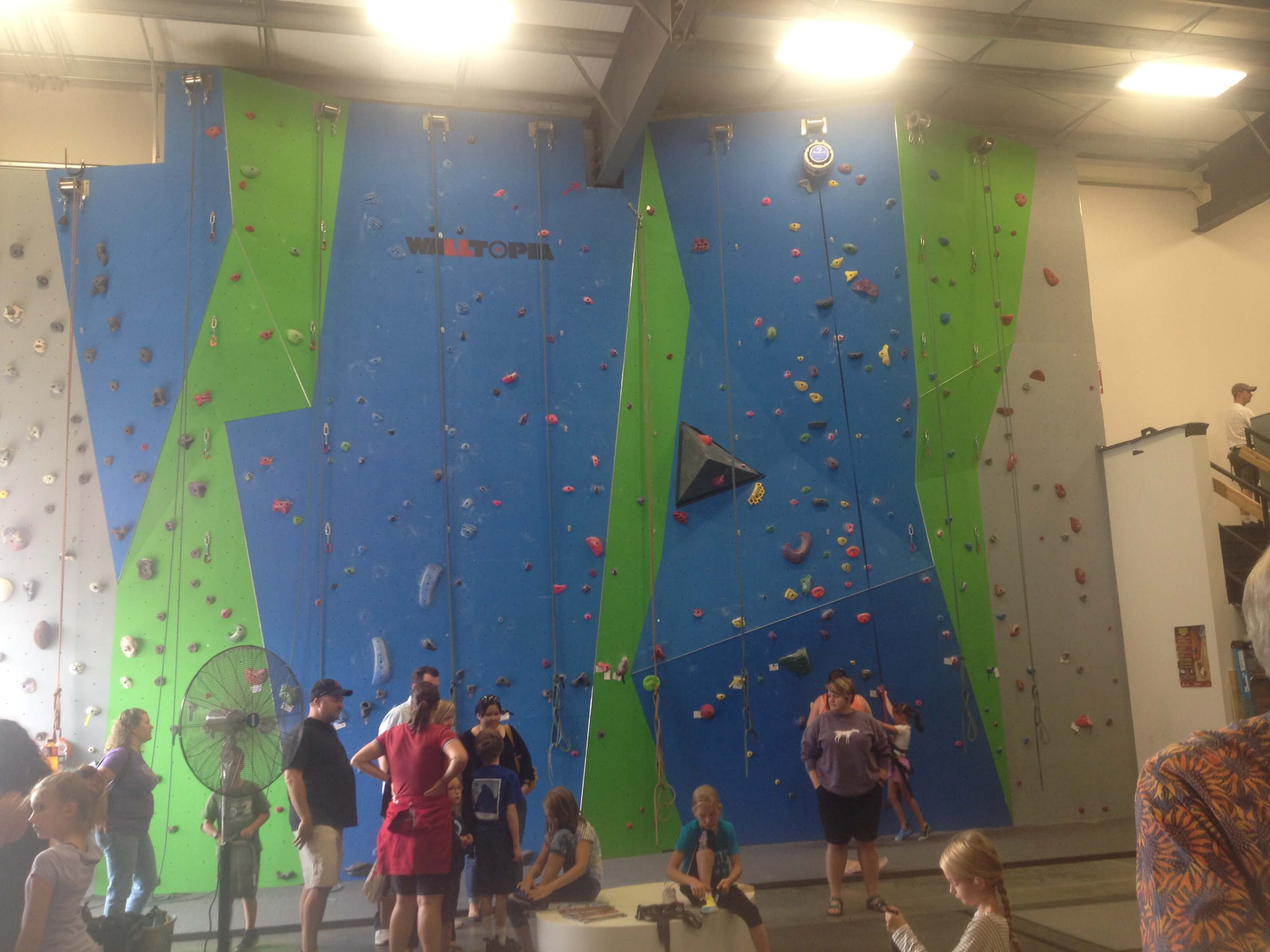 Riverstone Climbing Gym, Burlington, WA