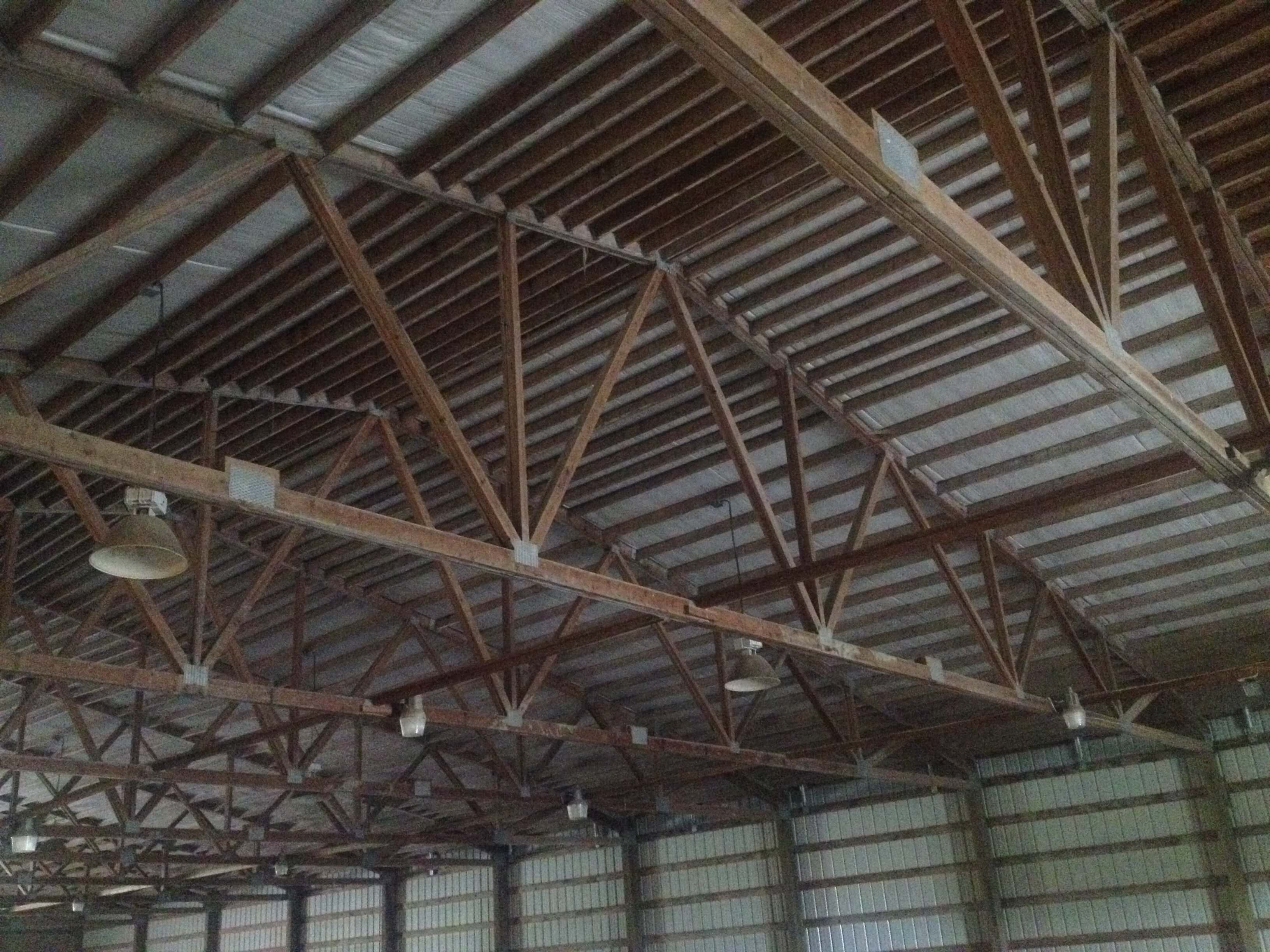 Riding Arena, Mount Vernon, WA<br>Roof Analysis for Repair