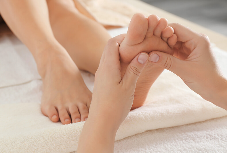 Get a Foot Massage at Red Coral Spa
