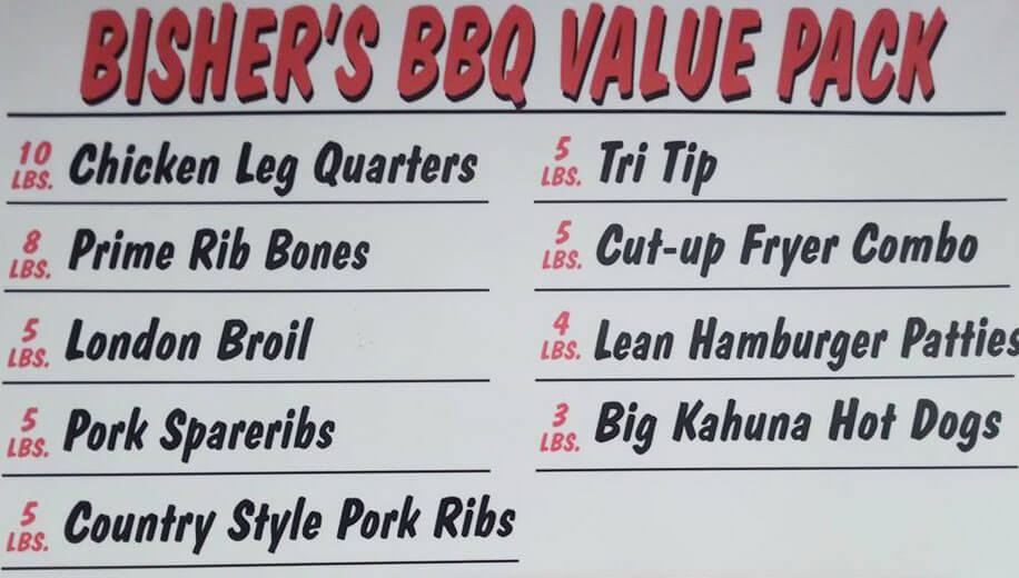 BBQ Value Pack