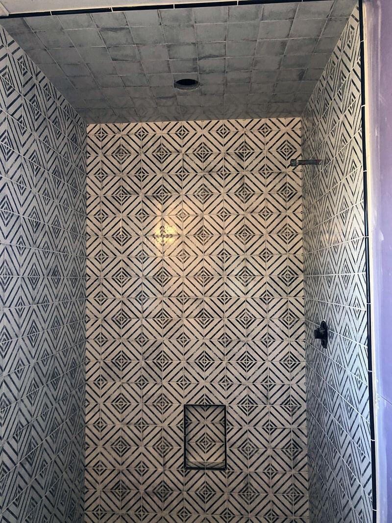 Bathroom Diamond Tile