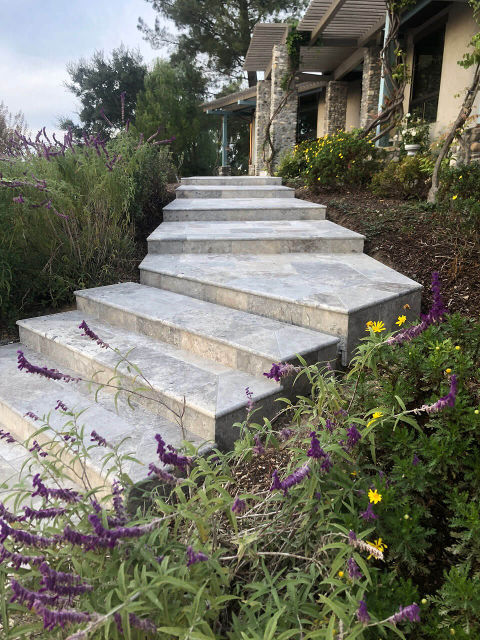 Outdoor Stone Staircase