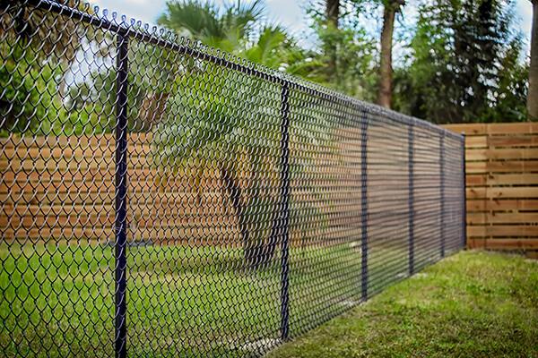 Chain-link fencing in Santa Barbara
