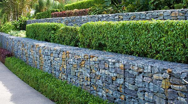 Retaining walls in Santa, Barbara California