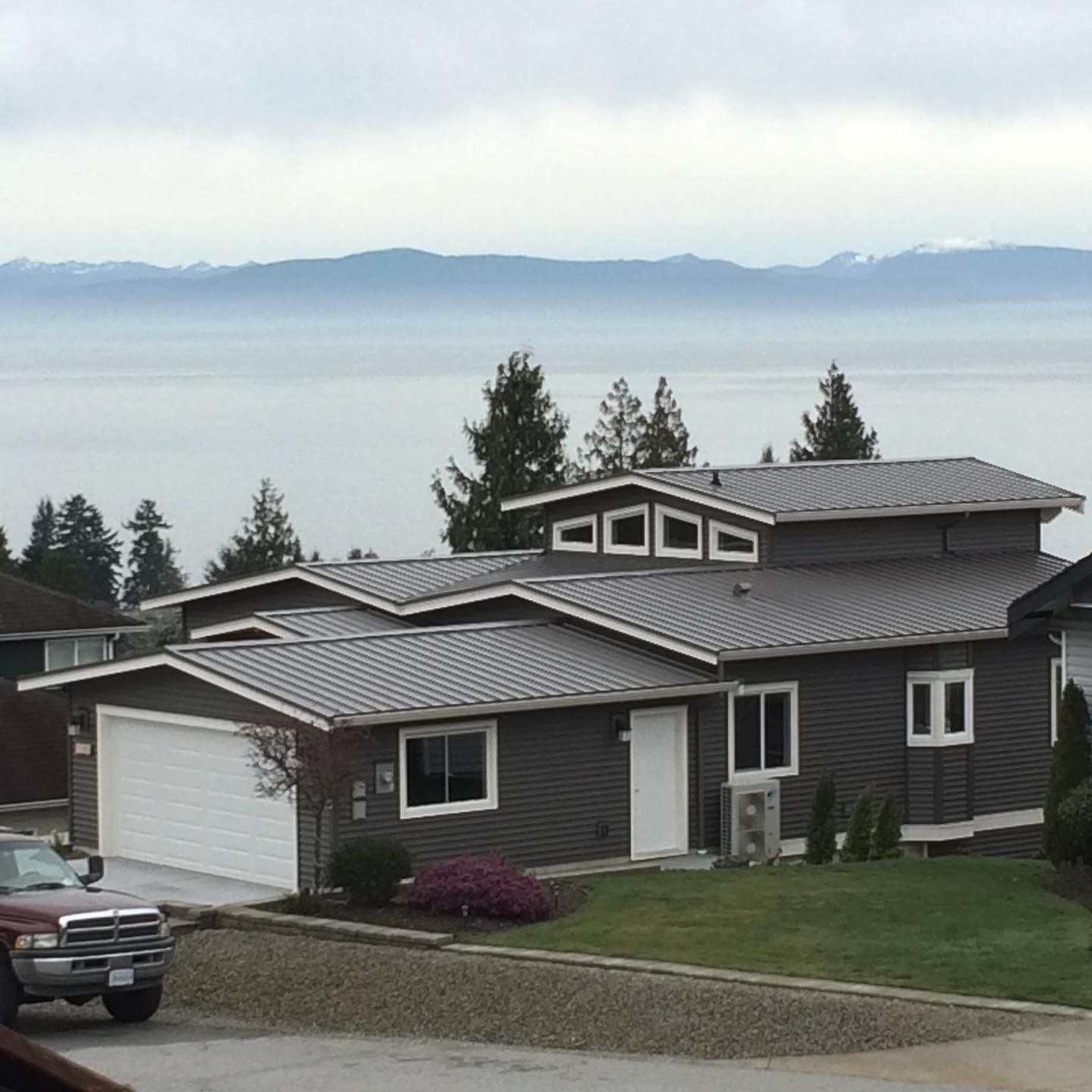Residential roofing on the Sunshine Coast, BC