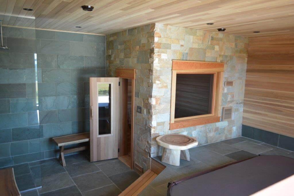Log interior