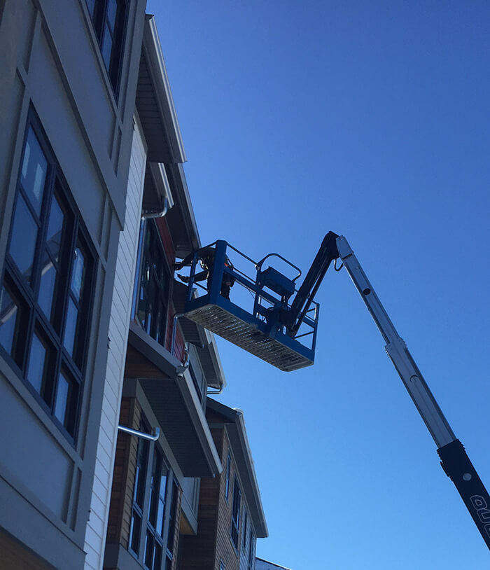 Commercial Gutter Installation