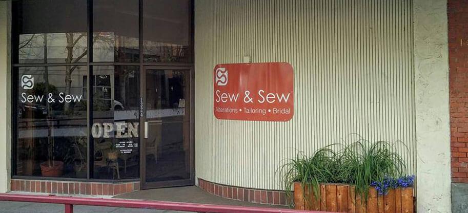 Sew & Sew Storefront