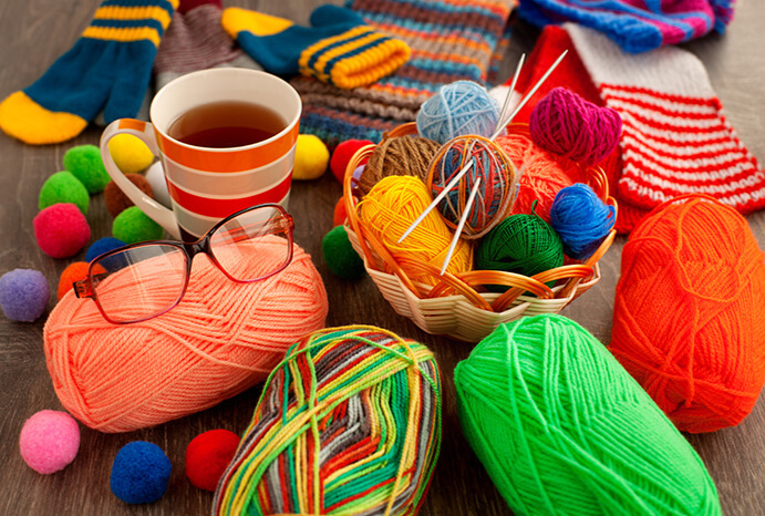 Crocheting & Knitting Supplies
