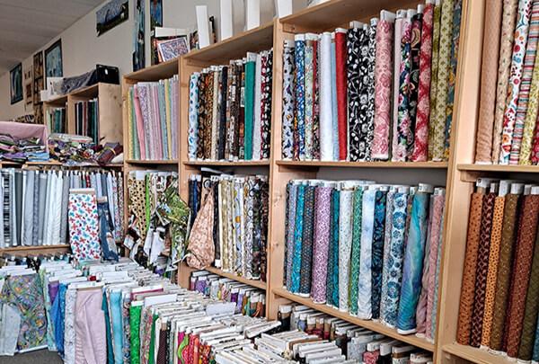 Cotton Fabric, Notions & Cascade Yarn