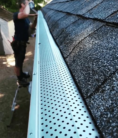 Gutter Guard Installation