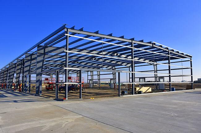 Commercial Steel Building in Skagit County