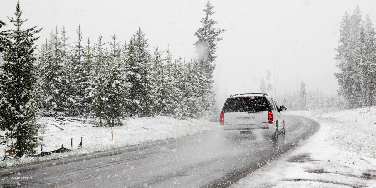 7 идей, куда поехать зимой в выходные из Спб на машине