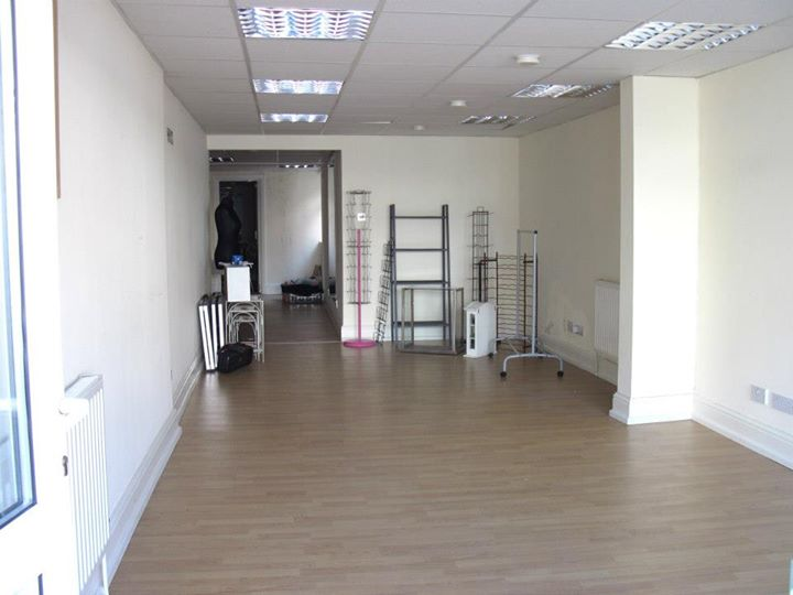 The shop before opening