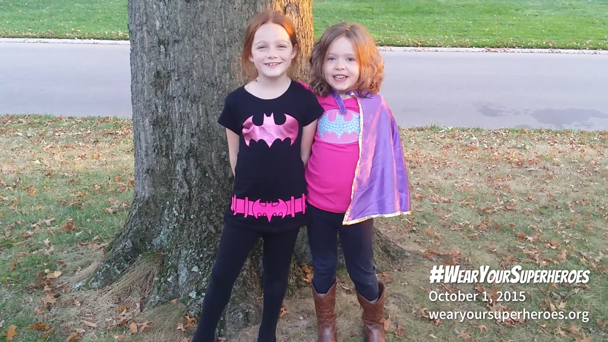 Wear Your Superheroes Day 2015