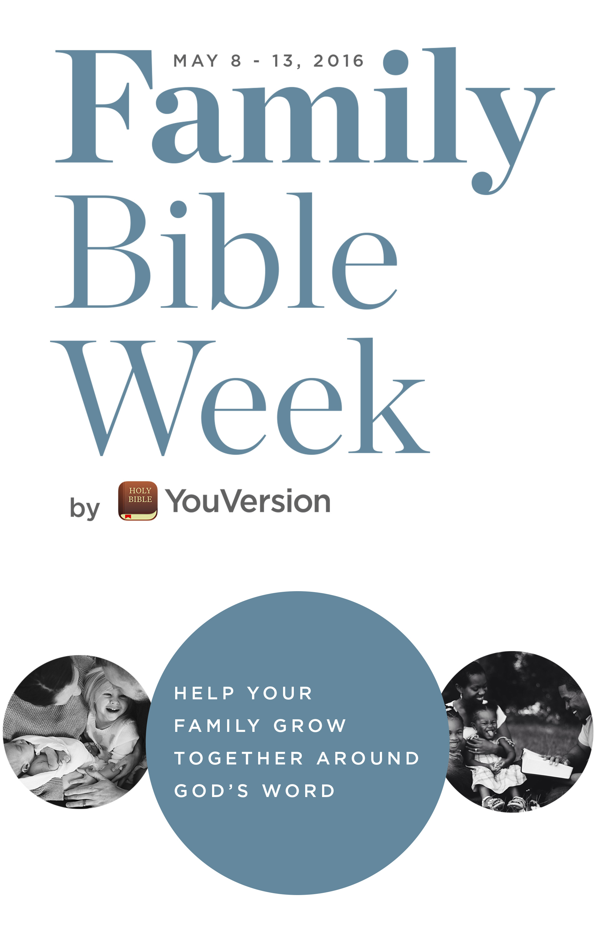 Family Bible Week: Help your family grow together around God's Word