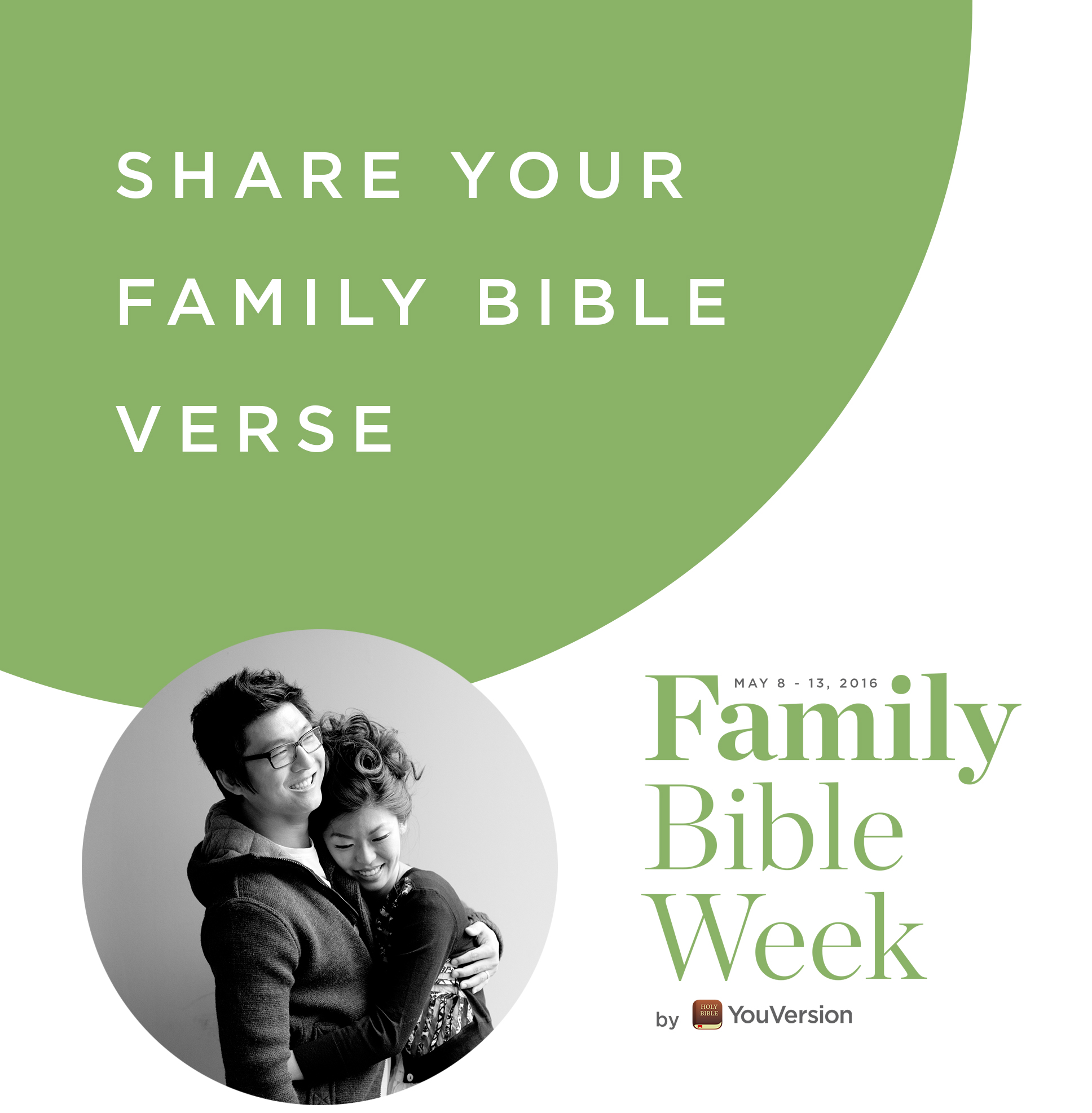 Family Bible Week: Share your family Bible verse