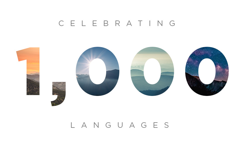The Bible App: First to 1,000 Languages