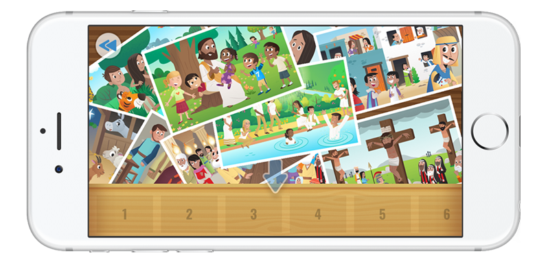 All-New Story Mixup Game in the Bible App for Kids