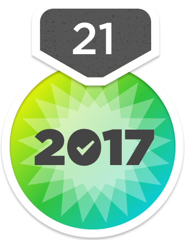YouVersion's 21-Day Challenge 2017 Badge