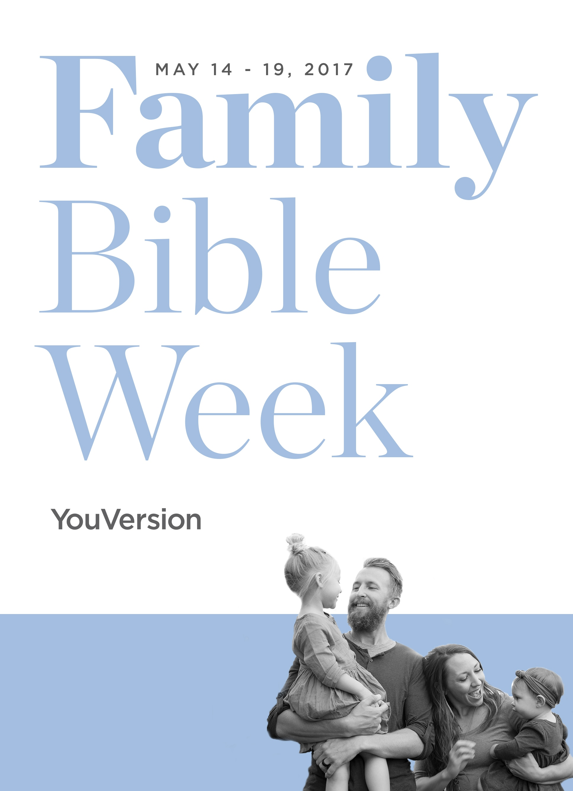 Family Bible Week Plans for Families