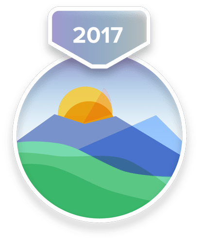 2017 Half-Year Challenge Badge