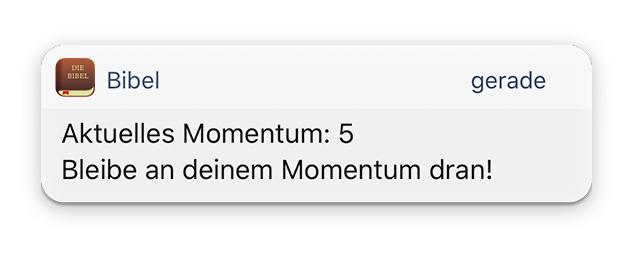 Aktuelles Momentum