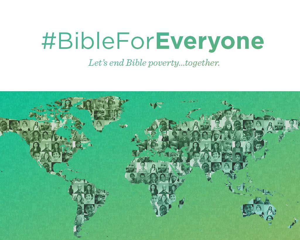 #BibleForEveryone