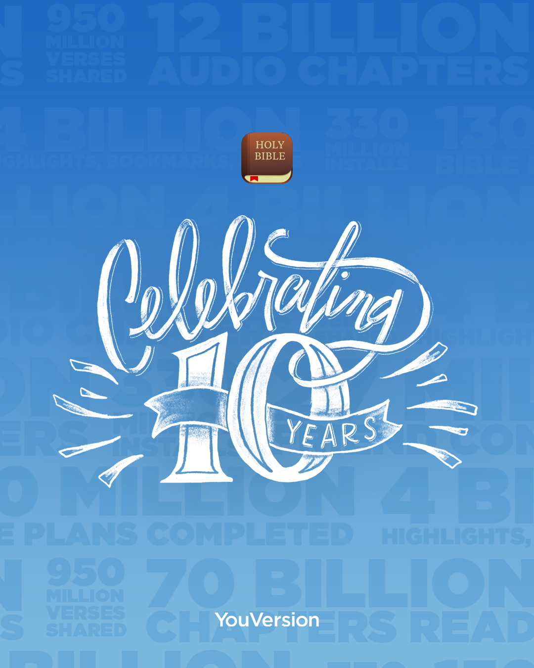 🎉 The Bible App turns 10 today! - YouVersion