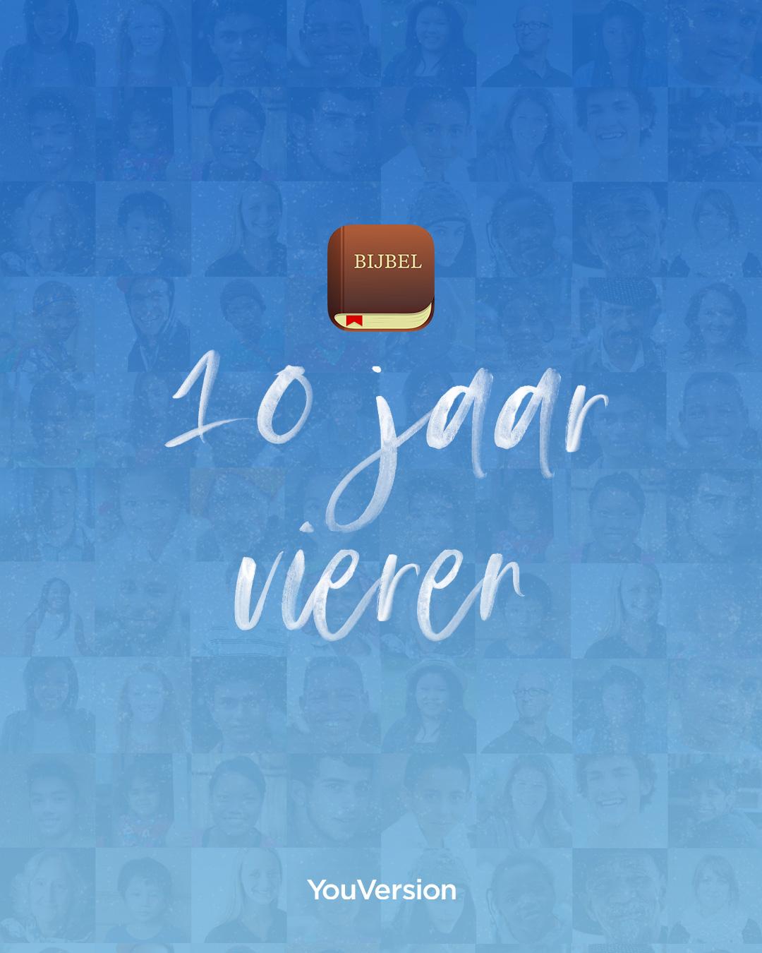 10 jaar Bijbel App vieren