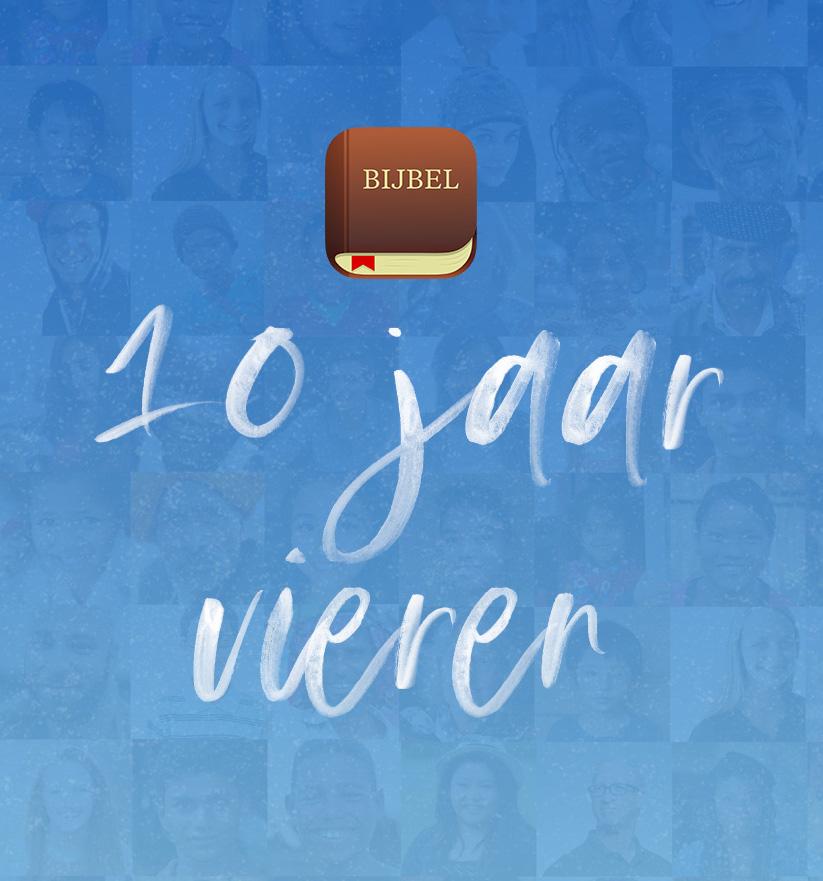 De Bijbel App bestaat 10 jaar