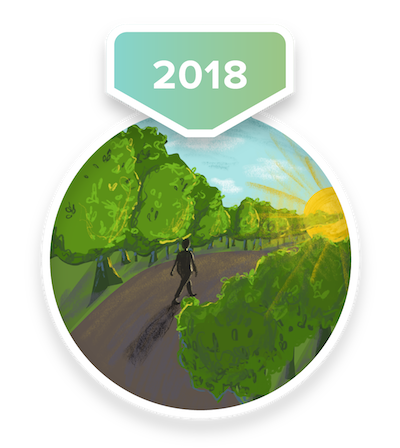 2018 Mid-Year Challenge Badge