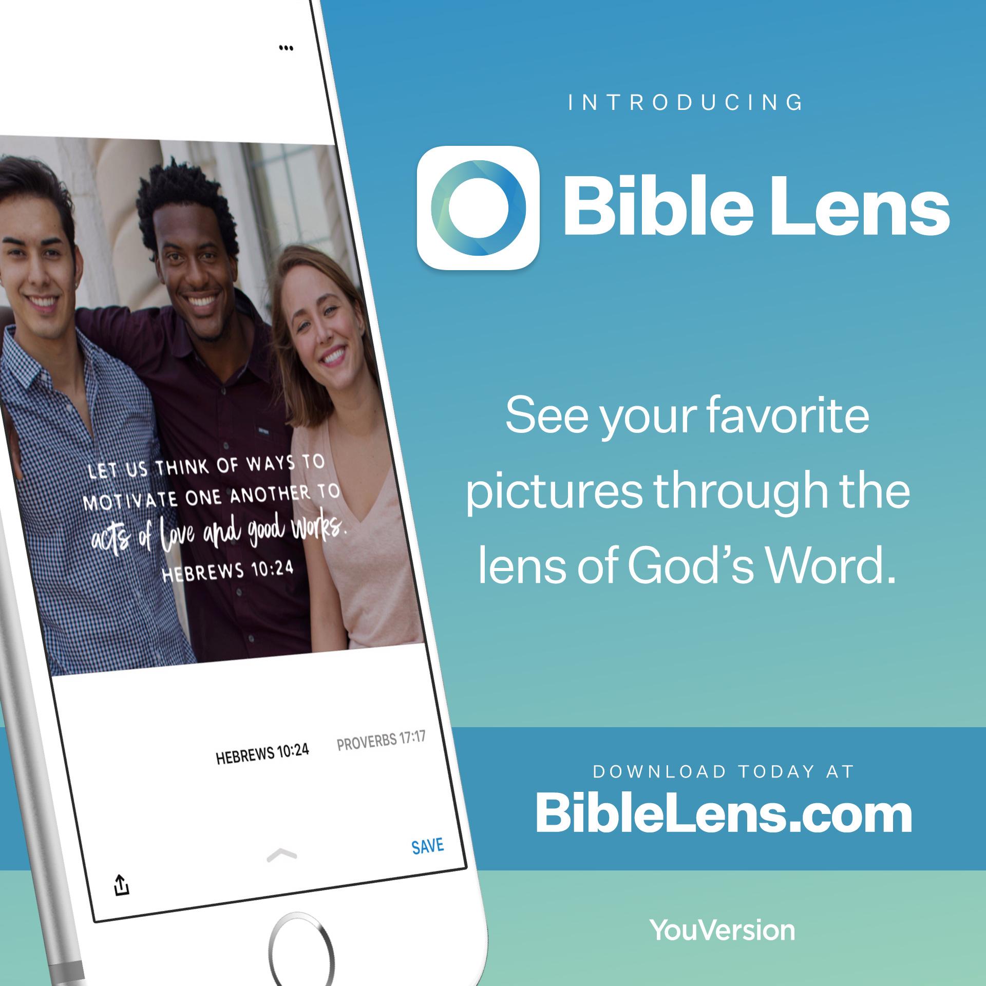 Introducing Bible Lens