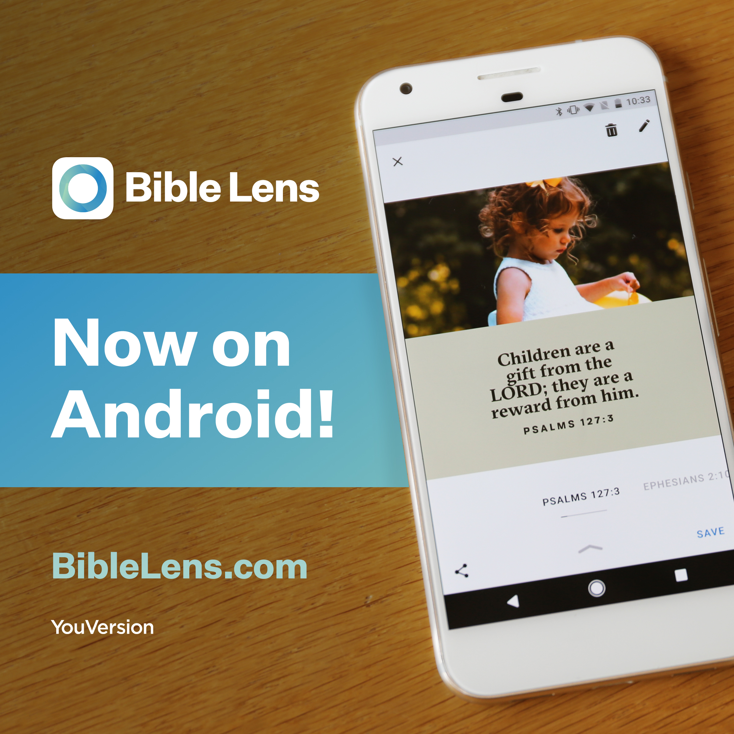 Bible Lens - Now on Android