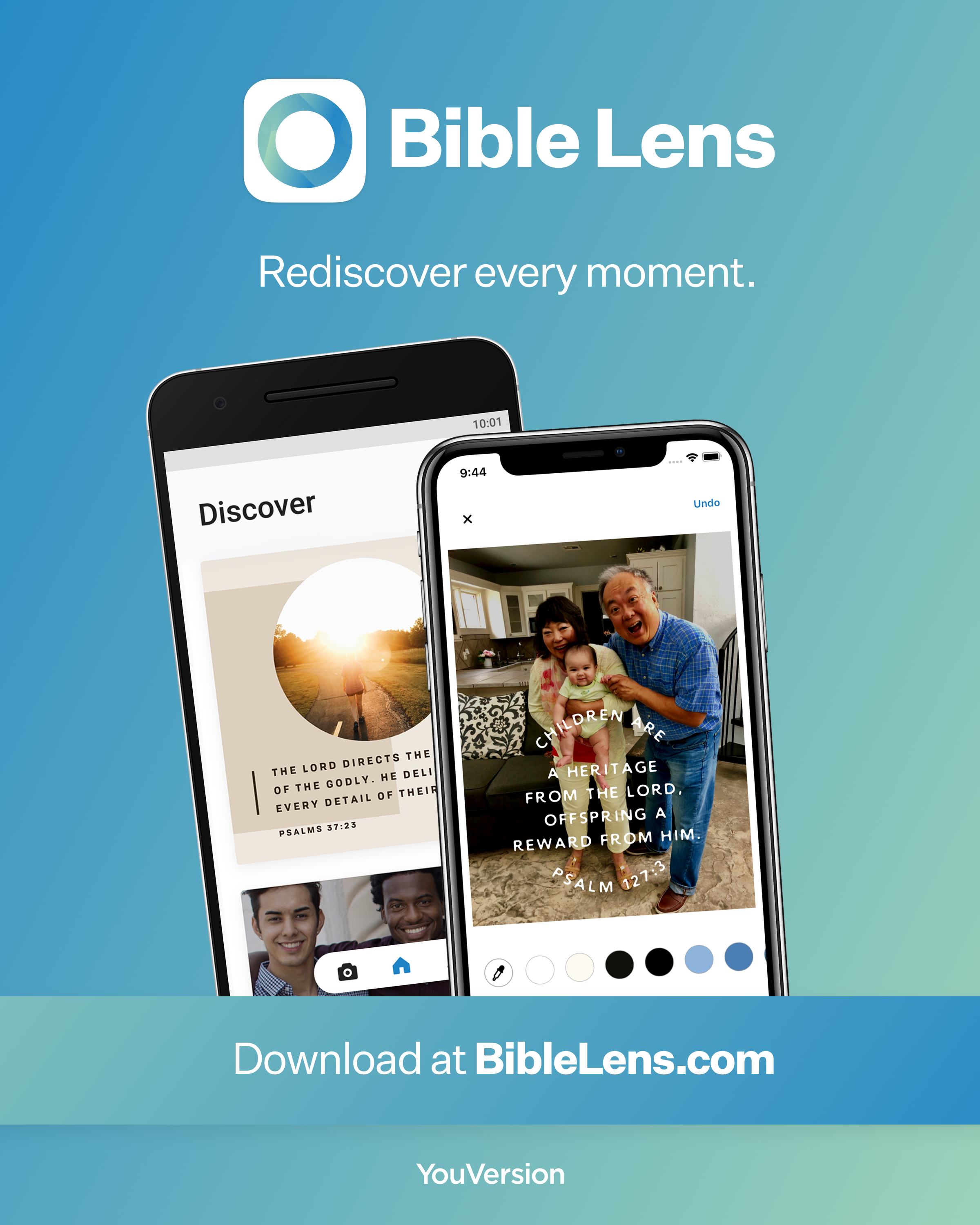 Bible Lens - Rediscover every moment.