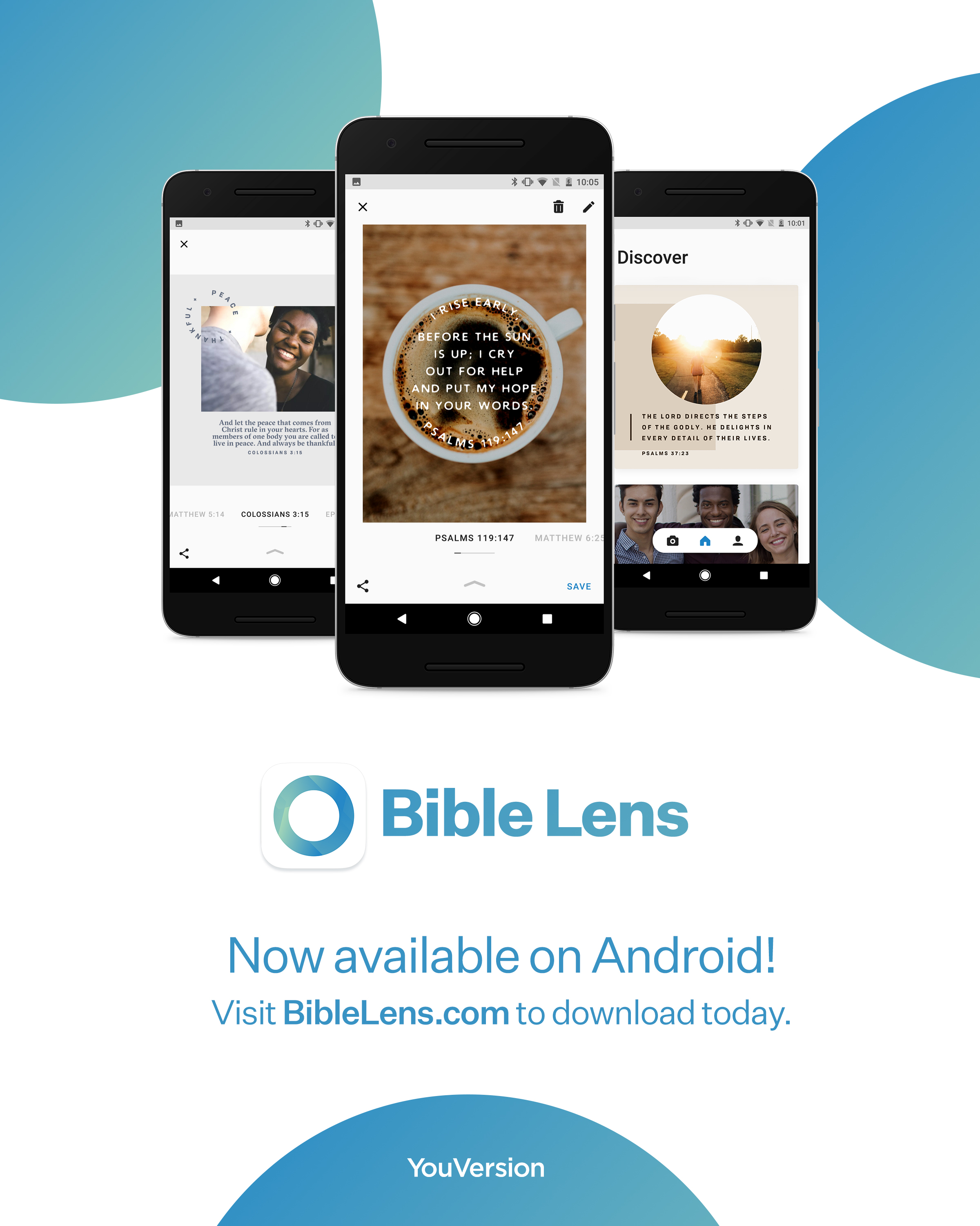 Bible Lens - Now available on Android