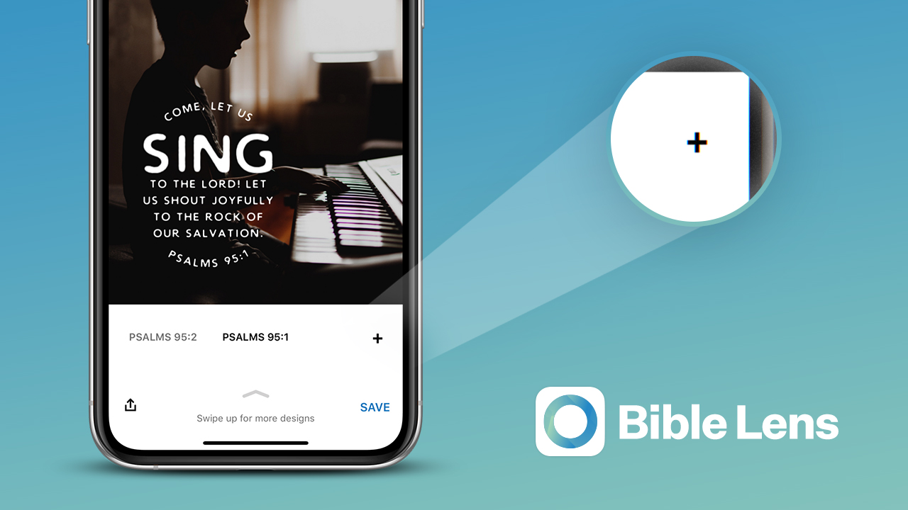 Bible Lens - Pick your own verse