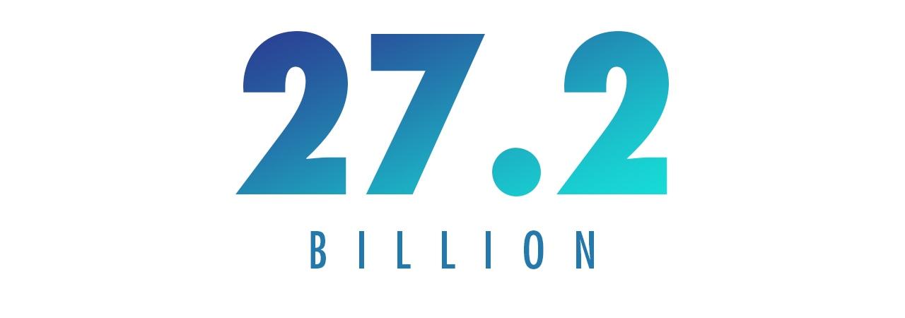 27.2 BILLION
