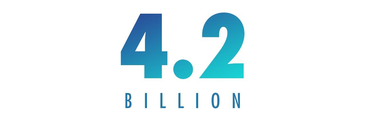 4.2 BILLION