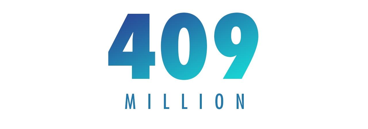 409 MILLION